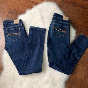 Abercrombie girls jeans